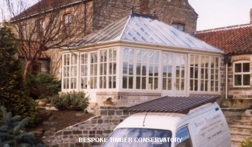 Bespoke timber conservatory